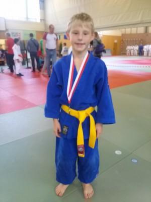 Der Medaillengewinner.