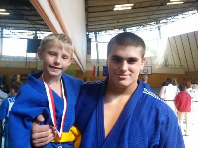 Dragan mit Stephan Hegyi, 3. der U18 WM.