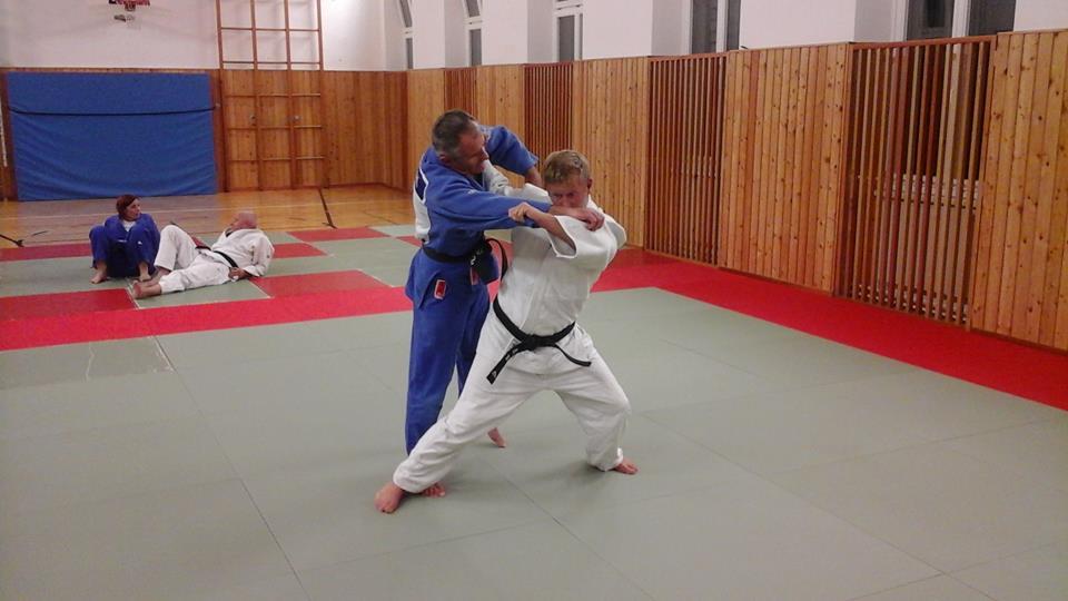 nach dem judo duschen